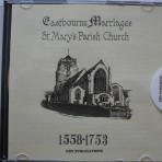 Eastbourne Marriages  St Mary's 1558-1753