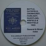 Battle 1923 General Street Index