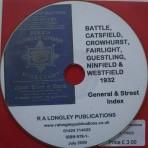 Battle 1932 General Street Index