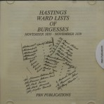Hastings Ward Lists of Burgesses 1835-1839