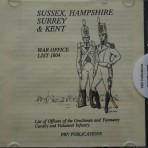 Sussex/Hants/Surrey & Kent War Office 1804