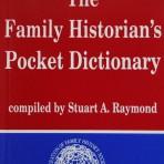 The Family Historian's Pocket Dictionary