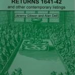 Protestation Returns 1641 – 42