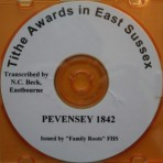 Pevensey Tithe Awards   1842