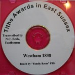 Westham Tithe Awards  1838
