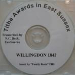 Willingdon Tithe Awards  1842