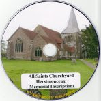 Herstmonceaux, All Saints Churchyard MIs